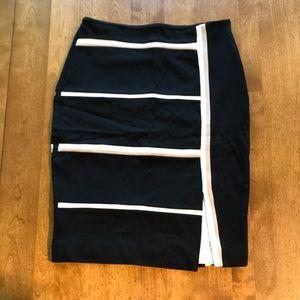 WHBM Ponte Pencil Skirt